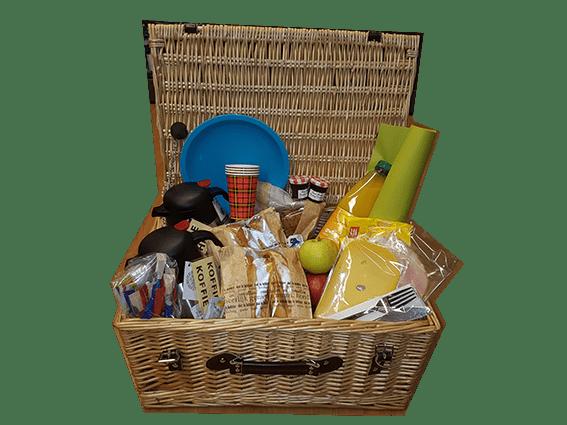Picknickmand of tapasschotel om uw tocht nog leuker te maken in Zeeland