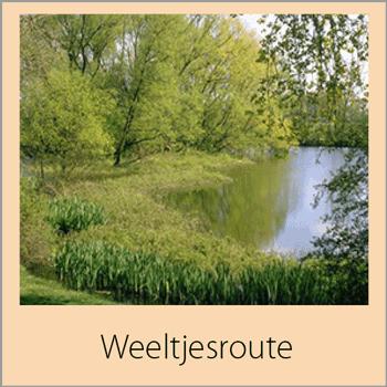 U komt door diverse dorpen en zeer verschillende landschapstypen, zoals het open Poelgebied, het kleinschalig polderlandschap met de vermaarde bloemdijken, langs het heggenreservaat en langs diverse weeltje